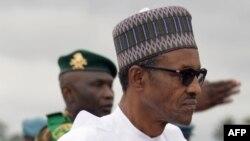 Muhammadu Buhari, président du Nigeria
