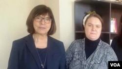 ევროპარლამენტარი რებეკა ჰარმსი მუსტაფა ჩაბუქის მეუღლესთან ერთად თბილისში