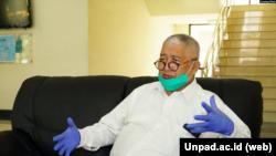 Kepala tim riset FK Unpad, Prof. Dr. Kusnandi Rusmil (Sumber: Unpad.ac.id)