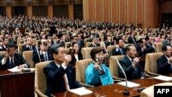 Парламент Северной Кореи. Архивное фото