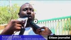 Namata Insha, daraktan hukumar cinikayya a Damagaran