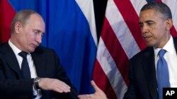 Владимир Путин и Барак Обама (Фото из архива)