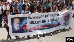 Azərbaycan müxalifəti 28 may-Respublika gününü qeyd edir