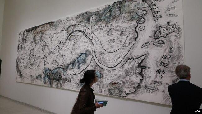 Цю Чжицзе. «Карта театра мира» Photo: Oleg Sulkin