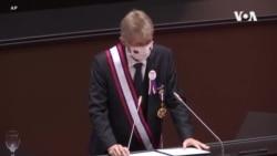 """捷克參議院議長在台灣立法院發表演說 稱""""我是台灣人"""""""
