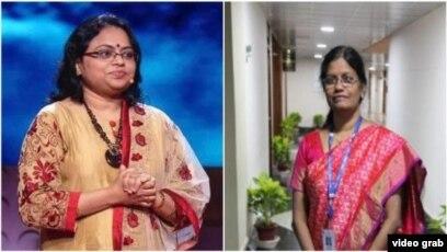 Dos Mujeres Indias Al Frente De Misión Lunar