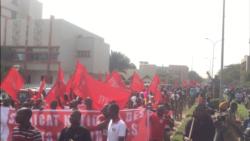 Reportage de Lamine Traoré sur les manifestations au Burkina Faso