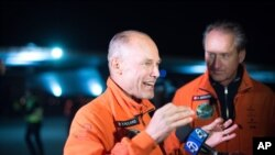 Бертран Пикар и Андре Боршберг
