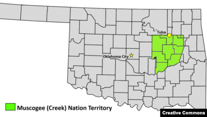 Could Half Of Oklahoma End Up Under Native American Control