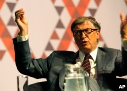 Philanthropist and Microsoft founder, Bill Gates, spoke at this year's International Aids Conference, 2016.