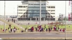 Nigerians Exercise on a Deserted Highway during Lockdown