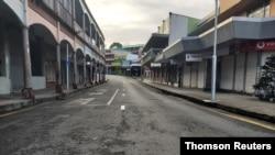 COVID-19 outbreak strikes Fiji, July 15, 2021.