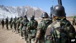 Солдаты афганской армии (архивное фото)