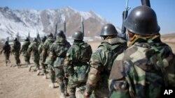 تا کنون ۲۲۰۰ سرباز افغان در ایالات متحده آموزش نظامی دیده است