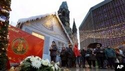 圣诞节期间遭袭击的德国柏林市场重新开放
