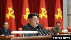 朝鲜最高领导人金正恩(资料照)