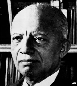 FILE - Carter G. Woodson in an undated photograph.