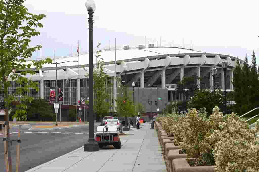El estadio Robert F. Kennedy es el hogar del equipo D.C. United situado en la capital de los EE.UU., Washington.