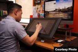 Rio Koeswan, warga Indonesia di Kanada yang berkecimpung di dunia animasi sebagai layout supervisor (Dok: Rio Koeswan)