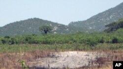 Vista de uma área de Benguela.