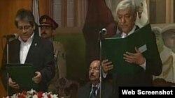 گورنر سندھ نے نگران وزیراعلیٰ سے حلف لیا