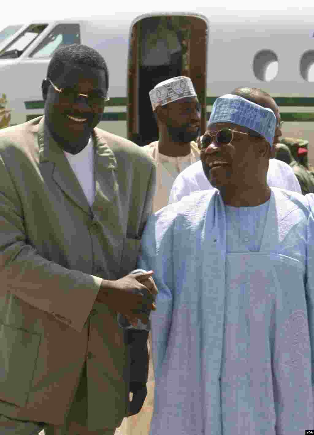 IBB da ministan harkokin wajen Guinea