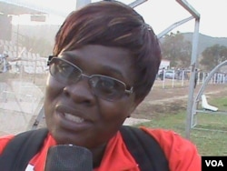 Jacqueline Sarandega of Hwange Football Club.