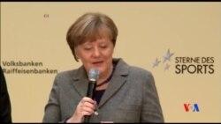 2016-01-27 美國之音視頻新聞: 默克爾呼籲各方面對歐洲難民潮保持樂觀
