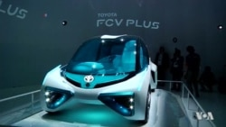 รถขับเคลื่อนด้วยตัวเองและรถพลังงานสะอาดเป็นพระเอกในงานแสดงรถยนต์ที่ญี่ปุ่น