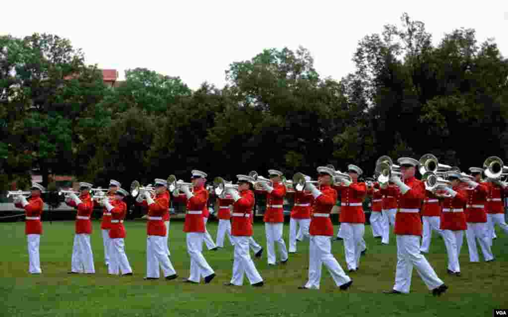 Духовой оркестр морских пехотинцев Вашингтонской базы