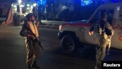 ساعتی بعد از انفجار سه شنبه شب در کابل