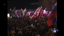 克里米亚将近97%公投者支持脱乌入俄