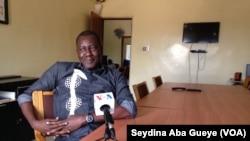 Ibrahima Gassama, journaliste basé en Casamance, 9 février 2018. (VOA/ Seydina Aba Gueye)