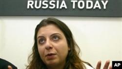 Главный редактор российского телеканала Russia Today Маргарита Симоньян (архивное фото)