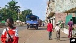 Cidade de Saurimo, capital da Lunda Sul