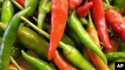 Καυτερές πιπεριές κατά της υπέρτασης!