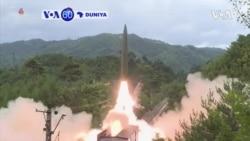 VOA60 DUNIYA: A Koriya Ta Arewa, Gwanmatin Pyongyang Ta Ce Ta Yi Nasarar Harba Makamai Masu Linzami Daga Jirgin Kasa A Karon Farko