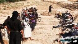 قتل عام مردم عراق به دست داعش