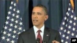 奥巴马总统发表有关利比亚问题讲话