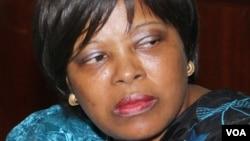 Maria do Carmo Silveira, ancienne Première ministre de São Tomé et ancienne secrétaire exécutive de la Lusophonie.
