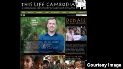 'This Life Cambodia' was founded in 2007 to make changes at the local communities in Siem Reap, Banteay Meanchey, and Oddar Meanchey provinces. (Screenshot of 'This Life Cambodia's website)
