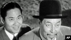 'Charlie Chan at the Circus' (1936), starring Warner Oland as Chan and Keye Luke as Number One Son.