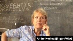 Dr. Viviane Van Steirteghem, représentante de l'Unicef au Tchad, le 30 juillet 2019. (VOA/André Kodmadjingar)