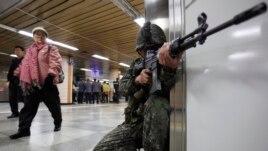 Quân đội Nam Triều Tiên tiếp tục duy trì tư thế sẵn sàng chiến đấu.