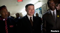 John C. Liu, el contralor de la ciudad de Nueva York.