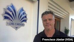 Marius Wolmarans, director-geral do Hotel Cardoso