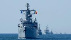 北約烏克蘭黑海軍演展示團結