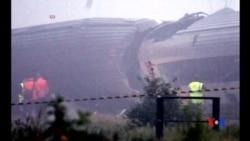 2016-06-06 美國之音視頻新聞: 比利時火車相撞 3死40餘傷