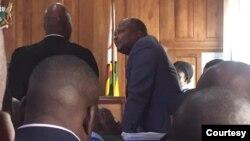 Job Sikhala In Masvingo Court