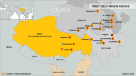 Tibetan Self-Immolations, updated November 8, 2012